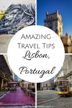 Looking for a travel guide for Lisbon, Portugal? Check out these tips to help you plan your first trip to Lisbon. There has never been a better time to visit Lisbon, Portugal and planning to travel to Lisbon is half the fun. Visit Portugal, Portugal Travel, Spain And Portugal, Lisbon Portugal, Europe Travel Guide, Travel Guides, Europe Packing, Backpacking Europe, Travel Info