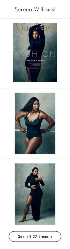 """""""Serena Williams!"""" by blueladybird ❤ liked on Polyvore featuring accessories, ad campaign and serena williams"""