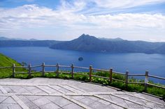 Lake Mashu in Hokkaido - the clearest and most beautiful lake in Japan.