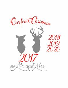 Excited to share the latest addition to my #etsy shop: Our first christmas, christmas svg, first christmas svg, Mr and Mrs svg, svg christmas, svg first christmas, svg Mr and Mrs,reindeer svg,svg http://etsy.me/2ju5WEI