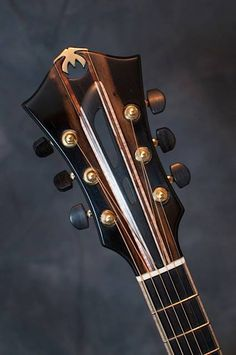 Mirabella Guitars Archtop headstock