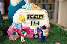 Greedy For Colour: Crochet Caravan Pattern News!