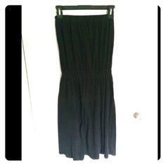 Black tube top dress ALTERNATIVE brand. Black tube top dress. Size small Urban Outfitters Dresses Strapless