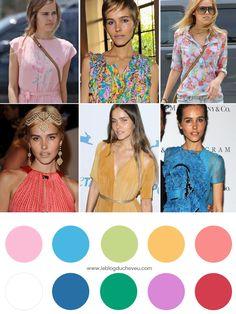 Colorimétrie : Bien choisir ses couleurs pour se sublimer naturellement ! - Le blog du cheveu