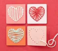Tarjetas con costura Facebook- Useful DiY https://www.facebook.com/photo.php?fbid=676978758992163&set=a.529816110375096.1073741825.521953004494740&type=1&theater