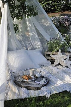 shabby + beach nap and a picnic + summer + country + romantic