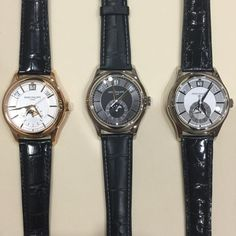 Decisions... Patek Philippe 5205 Annual Calendar in yellow gold or white gold with 2 dial color options. Which do you pick?