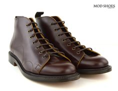 """We are so pleased to be able to offer these quality boots. Nut BrownMonkey Boots with a Leather Sole, and Made In England The Monkey Boot has been around for many, many years, only in black for ages and then in recent times, a kind of Brown / Red colour. The boot is a classic … Continue reading """"Nut Brown Monkey Boots – Leather Sole"""""""