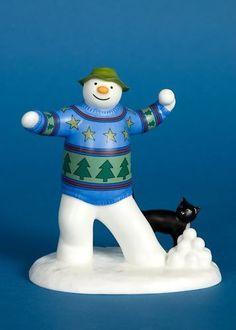 COALPORT-SNOWMAN-SNOWBALL-FIGHT-FIGURE-LTD-ED-350