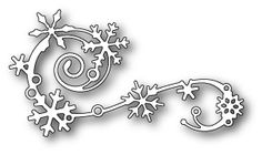 Memory Box ELEGANT SNOWFLAKE FLOURISH Craft Die 99477 Preview Image