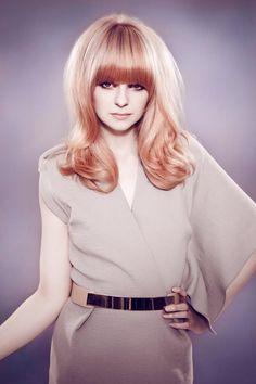Blush hair colour <3