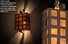 """10""""W Monte Cristo Rustic Wall Sconce"""