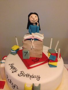Matilda Cake by Emma Lake - Cut the Cake Kitchen- Roals Dahl Party