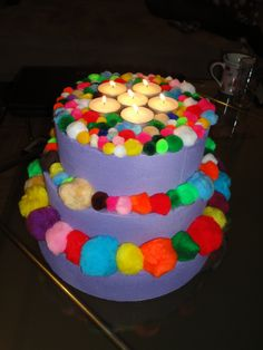 Verjaardagstaart - Birthday cake for kids