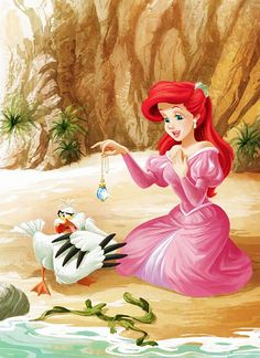 Ariel, The Little Mermaid, Disney Princess, Disney Fan Art