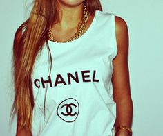 Chanel shirt <3