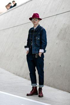 42 Die meisten Street Style Outfits für Herren im Winter - Neue Mode Trennd Mens Street Style 2018, Korea Street Style, Men Street, Korean Fashion Summer Casual, Korean Fashion Kpop, Korean Street Fashion, Outfits Hombre, Look Man, Kawaii Clothes