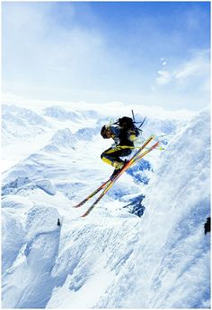 Most Dangerous Extreme Sports   Extreme Skiing