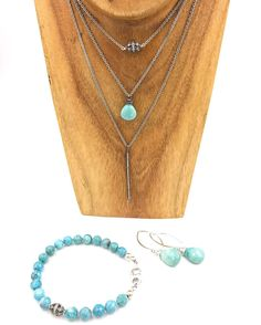 #layers #sleepingbeauty #turquoise #diamond #sterlingsilver elevate your #style this year with #designer #jewelry #instyle #fashion #instagood #jewellery #casual #upscale #luxury wear your #diamonds #everyday and #transform your #look with #oiejewelry