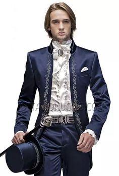 12 Useful Tips about Men's Fashion – Designer Fashion Tips Costume Slim, Mode Costume, Steampunk Fashion, Victorian Fashion, Prom Blazers, Costume Blanc, Groom Tuxedo, Wedding Suits, Costume Design