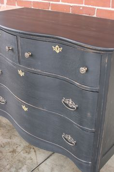 Painted Dresser French Provincial Furniture Cottage Chic