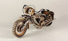 old watch part steampunk motorcycles    MOTO 083 by Dmitriy Khristenko dkart71, via Flickr