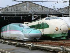 Old (shinkan-sen) & the New JR railway...!
