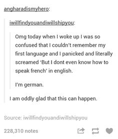 As a multilingual as well, I can confirm