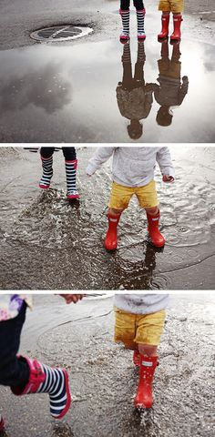 Kindershooting im Regen <3