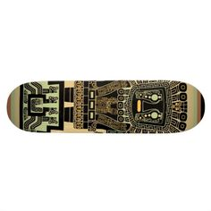 Inca Warrior Skateboard www.zazzle.com  Be victorious as a brave Inca Warrior on your one-of-a-kind skateboard. See more ancient tribal designs in my Zazzle shop: www.Zazzle.com/WitchesHammer