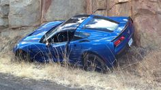 This Is The First 2014 Corvette To Crash On A Public Road