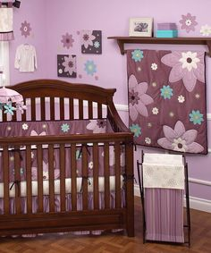 Take a look at this NoJo Plum Dandy 16-Piece Nursery Set on zulily today!