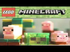 Lego Minecraft Micromobs Custom Review!