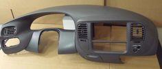 97-03 F-150 EXPEDITION NAVIGATOR 4x2 DASH VENTS TRIM RADIO BEZEL COLOR GRAY F2#9 #FordOEM