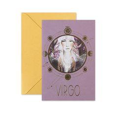 Virgo Card | With Envelope