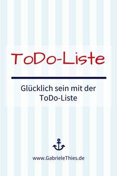 Über Prioritäten und Fokus - und was das mit der ToDo-Liste zu tun hat.