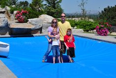 Safety Automatic Pool Cover - Child-proof pool cover (with proper supervision as well, of course!)