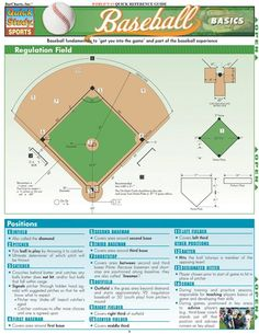 Baseball Basics Download this review guide and improve your grades. #education #ebooks #studyguides #science #math #school #college #teaching #teachers #classrooms #lessonplans #nursing #books #downloads #backtoschool