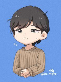 Bts Chibi, Anime Chibi, Bts Memes, Fanart, Army, Drawings, Taehyung, Gi Joe, Military