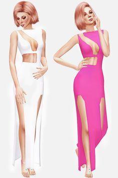 JADELYN DRESS at Leeloo via Sims 4 Updates