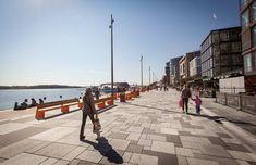 The Waterfront Promenade at Aker Brygge by Link Landskap «  Landscape Architecture Works | Landezine