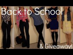 Back to School 2012 Fashion Must Haves - YouTube