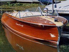 1954 Chris Craft boat