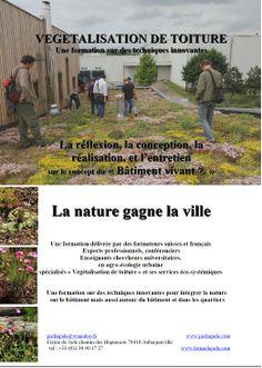 Formation sur la végétalisation de toiture et la nature en ville à la Ferme de Jade http://www.pariscotejardin.fr/2014/04/formation-sur-la-vegetalisation-de-toiture-et-la-nature-en-ville-a-la-ferme-de-jade/