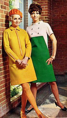 Premium Tips For Your Fashion Needs Are Found Here – Fashion Trends Sixties Fashion, 60 Fashion, Fashion History, Retro Fashion, Vintage Fashion, Robes Vintage, Vintage Dresses, Vintage Outfits, 1960s Dresses