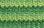 Herringbone needlepoint stitch. Uses:  Animals (one color), Clothes, Foliage, Birds, Buildings (siding and boards),    Backgrounds