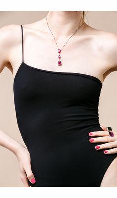 L/DANA - Colar Très Pink e Anel Beat #ldana #despertar #jewelry #design #ldanaofficial #diamonds #amethyst #greentourmaline #tourmaline #rubelite #rosegold #blackgold