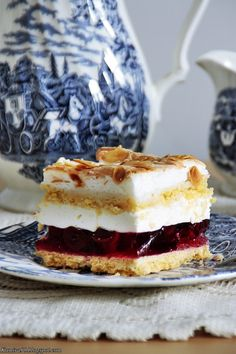 Polish Desserts, Polish Recipes, Cookie Desserts, No Bake Desserts, Cake Recipes, Dessert Recipes, Turkish Recipes, Sweet Cakes, Cupcake Cakes
