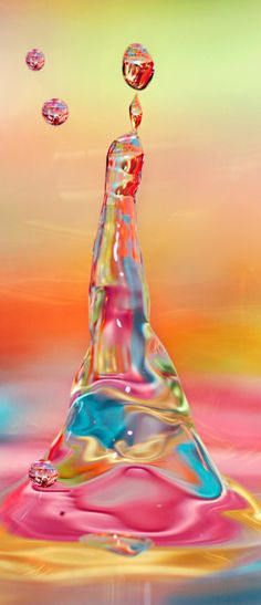 Colorful Drops | Very cool photo blog