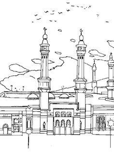 Eid Coloring Page For Kids | Family Holiday